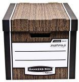 Archivační kontejner Woodgrain