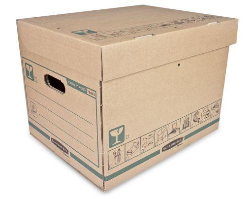Archivační krabice EXTRA STRONG střední
