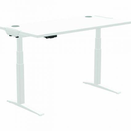 Základna k pracovnímu stolu s nastavitelnou výškou LEVADO™ -  bílý